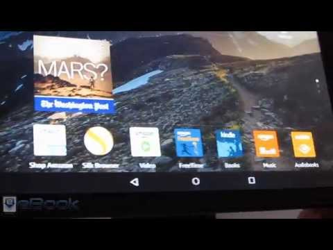Amazon Fire HD 8 Tablet Review and How To