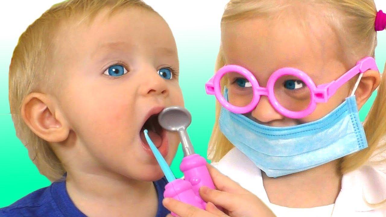 Dentist Song Spanish Version | Canciones Infantiles con Katya y Dima