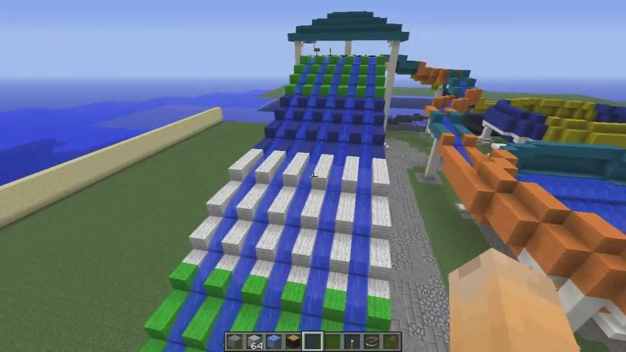 how to provide water in minecraft