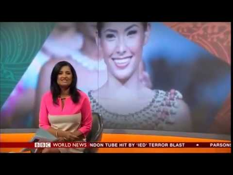 BBC World Live Interview with London Pacific Fashion Collective Designers