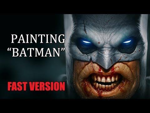 "Speedpainting - ""Batman"" (FAST VERSION)"
