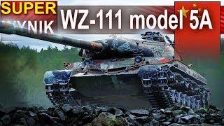 WZ-111 model 5A - i świetny wynik - World of Tanks