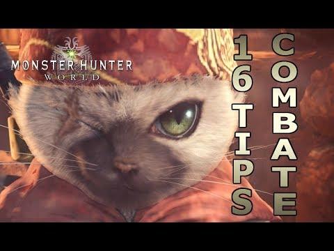 16 TIPS de COMBATE - Monster Hunter World (Gameplay Español)