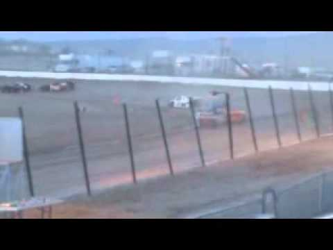 IMCA Sport Mod Heat race Thunder Mountain Raceway 4-24-2010