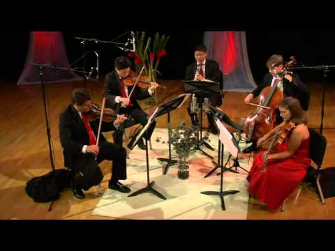 Mozart - Clarinet Quintet in A major, K 581 - Old City String Quartet