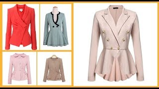 Stylish Ladies Coats & Jackets Design Ideas=Winter Fashion Outfits Idea 2018-19