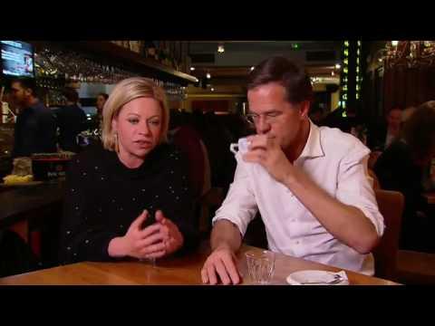Mark Rutte was LIVE op Facebook en NPO1 samen met Jeanine Hennis