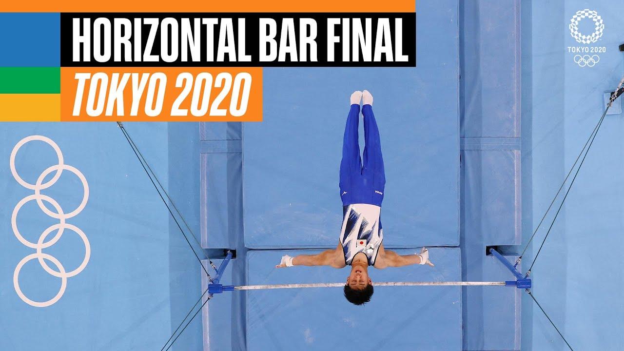 Men's Horizontal Bar Final   Tokyo Replays
