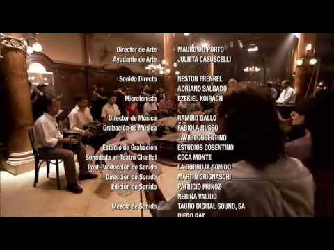 SI SOS BRUJO - Una Historia de Tango - Documental - Escenas Final