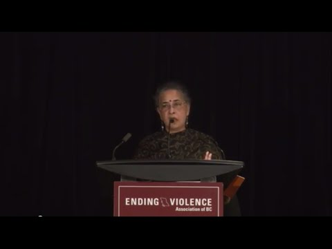 EVA BC Annual Training Forum 2014 - Shamita Das Dasgupta's Keynote