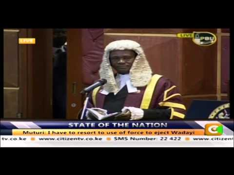 30 minutes of Chaos In Parliament #SOTN2016