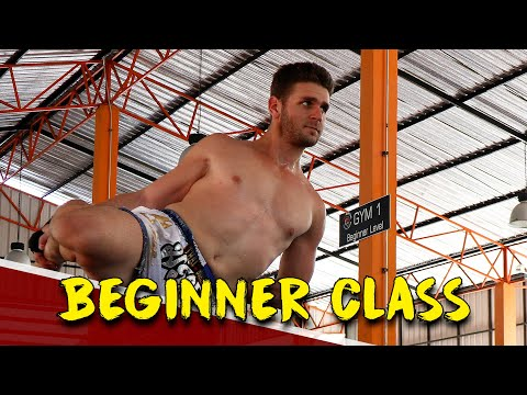 MY TIGER MUAY THAI TRAINING EXPERIENCE (BEGINNER CLASS) | FITNESS STREET VLOGS