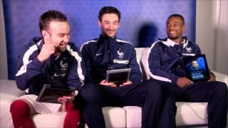 Les Questions Décalées avec l'équipe de France masculine de Football - Episode 1