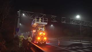 Safely working at height on our motorways