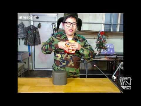 Eating Dinner on the Internet in South Korea