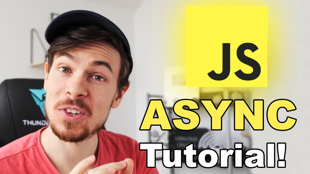 Async Javascript Tutorial For Beginners - Callbacks, Promises, Async Await