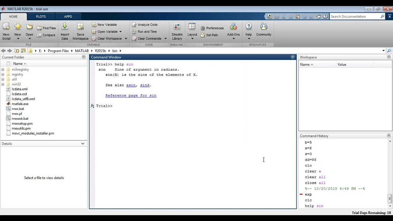 how to use the help menus in matlab how to use the help menus in matlab online education