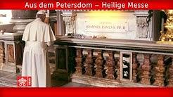 18. Mai 2020, Petersdom. Papst Franziskus