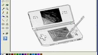 Art - My Drawing of a Nintendo DS