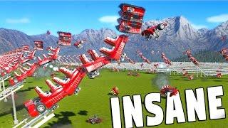 30+ ROLLER COASTER CRASH! (Planet Coaster Challenge)