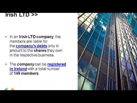 Open a Private Company Limited by Shares in Ireland