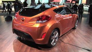 2012 Hyundai Veloster at the 2011 Detroit Auto Show | N.A.I.A.S.