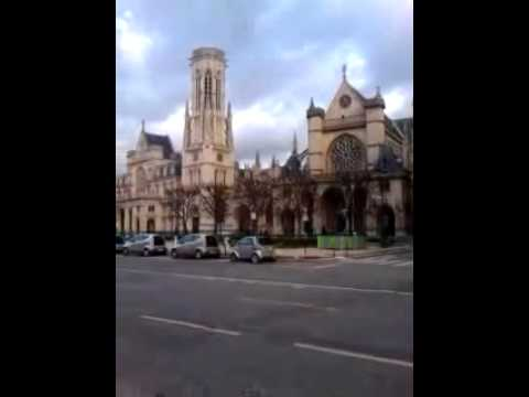 Catholic Church in Paris, France_(360p)