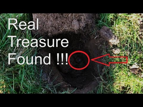 Thumbnail: Metal Detecting UK, Awesome Real Treasure Found!