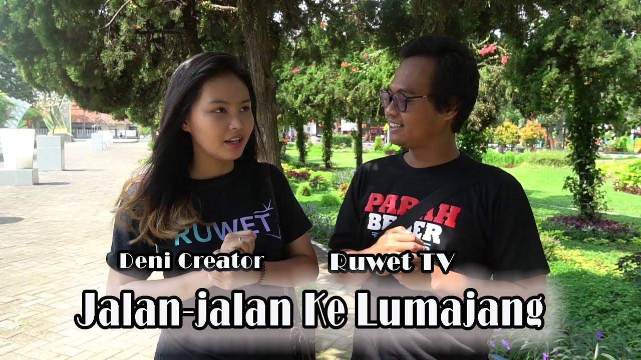 Deni Creator Jalan-Jalan Ke Lumajang Bersama Ruwet TV