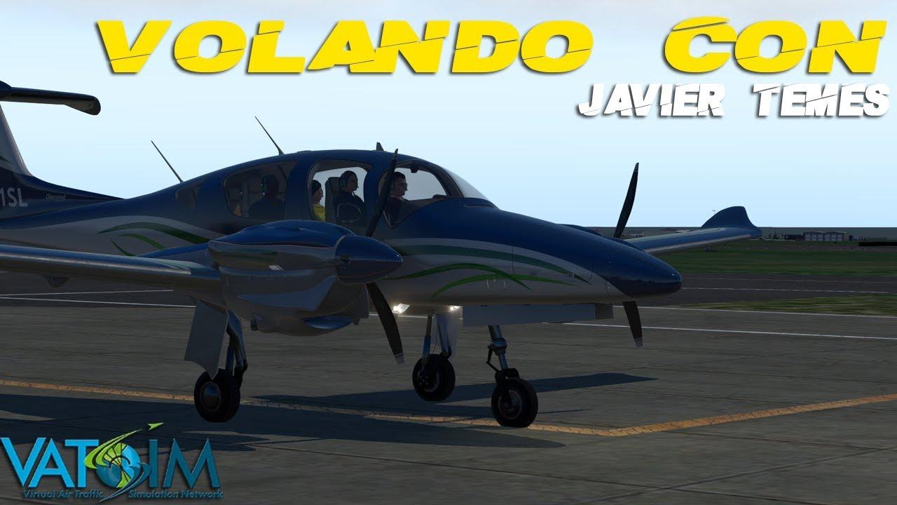 X-PLANE 11 Volando con Javier Temes #2  ¿Hablamos de Flight Simulator 2020?