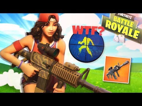 Die *NEUE* Waffe hat WALLHACKS!?   Fortnite Battle Royale
