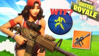 The *NEW* weapon has WALLHACKS!? Fortnite Battle Royale