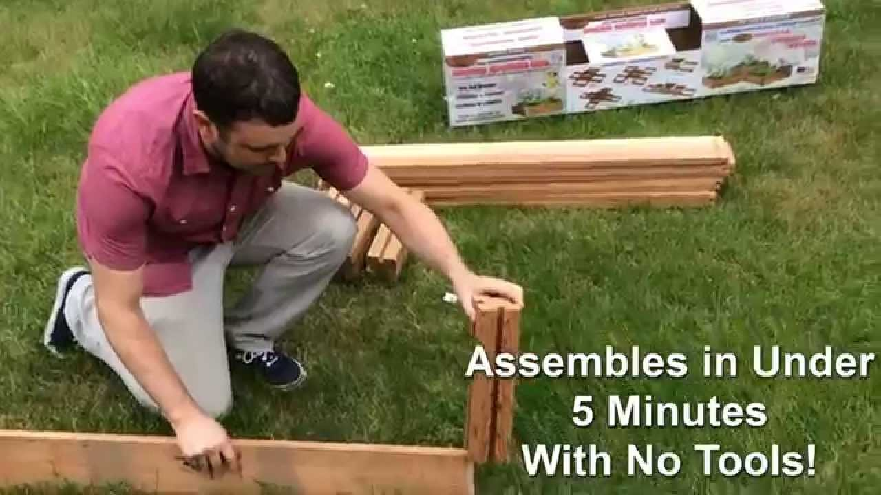 Gronomics Modular Raised Garden Bed At Great Garden Supply   YouTube