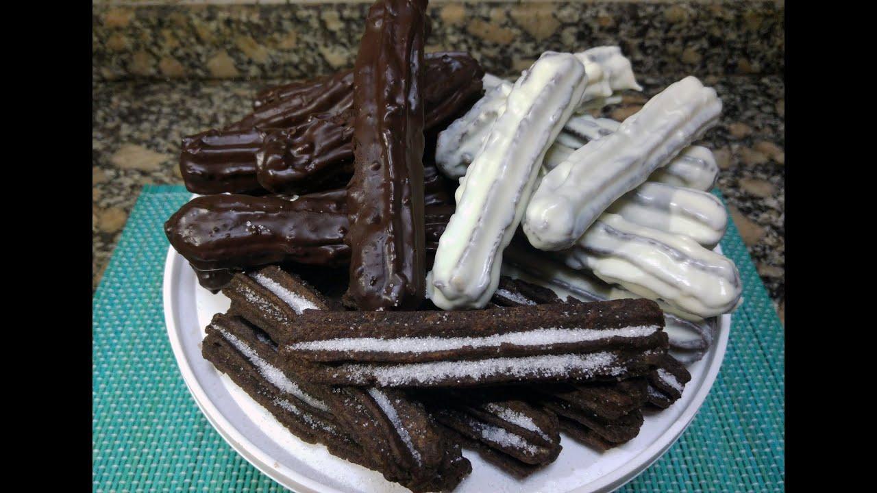 Churro con chocolate - 4 6