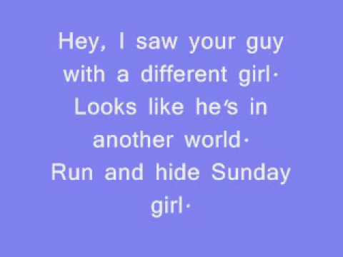 Sunday Girl-Blondie Lyrics