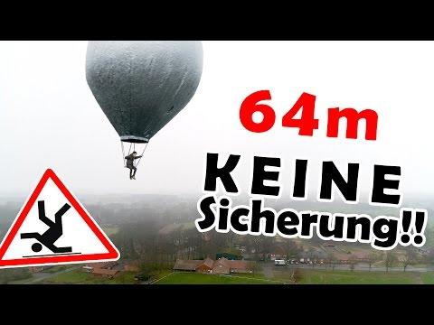 Our FINAL FLIGHT   world's smallest hot air ballon