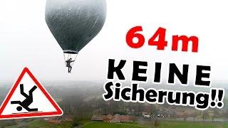Unser FINALER FLUG! | kleinster bemannter Ballon über'm Kliemannsland!