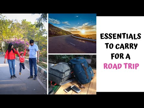 Road Trip Packing Tips | What Essentials To Carry For Picnic/Day-trip