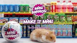 #MAKEITMINI with 5 Surprise Mini Brands!