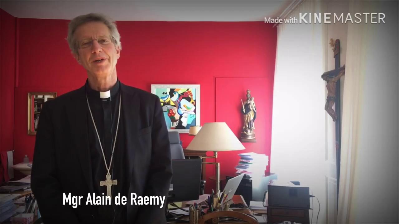 Mgr Alain de Raemy, l'évêque des jeunes