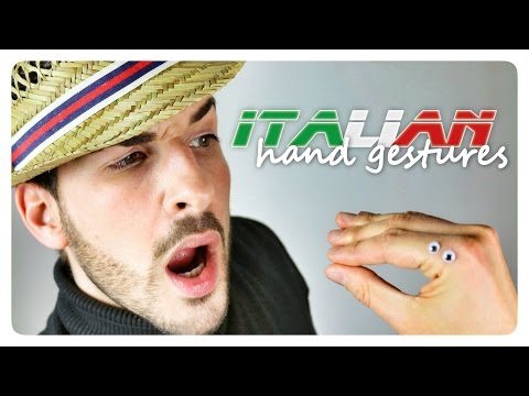Learn 60 ITALIAN HAND GESTURES with Marco