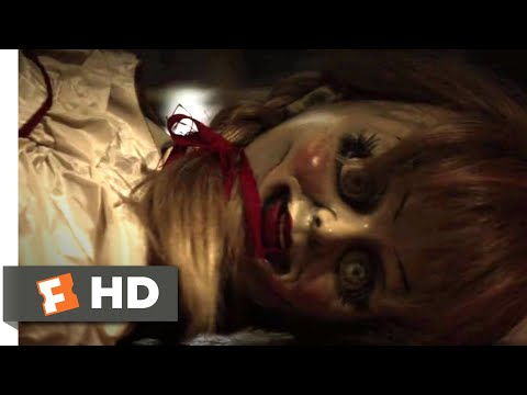 Annabelle (2014) - Trapped By A Demon Scene (6/10)   Movieclips