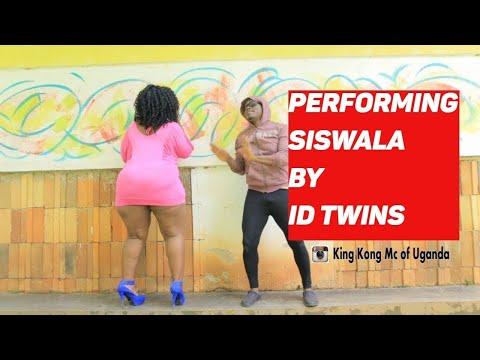 KING KONG MC OF UGANDA DANCING TO siswaala by ID TWINS  New Ugandan Comedy 2017 HD