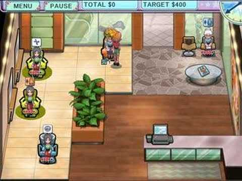 Game Spa Salon Sally