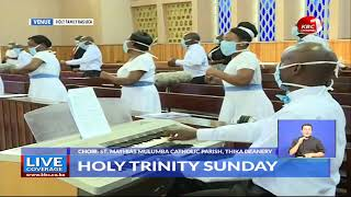 LIVE: #HolyMass celebrated by Rt. Rev. Norman King'oo Wambua, Bishop of the Diocese of #Machakos.