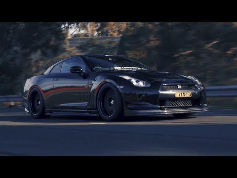 Dark Knight; GT-R R35 | 4K