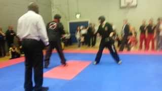 IAKSA Edinburgh Open 2014 - +94kg - Luke Thorpe(TKS) vs D Livingston(Edinburgh Assassins)