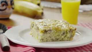 Brunch Recipes - How To Make Sausage Egg Casserole