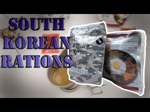 SOUTH KOREAN CIVILIAN RATIONS BIBIMBAP || SPICY KIMCHI, AND CHICKEN FLAVOR