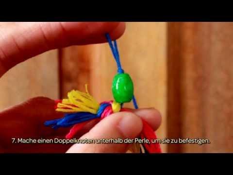 Ein Armband Aus Stickgarn Machen - DIY Style - Guidecentral - YouTube